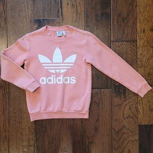 Adidas Coral Sweatshirt - Big Girls Medium